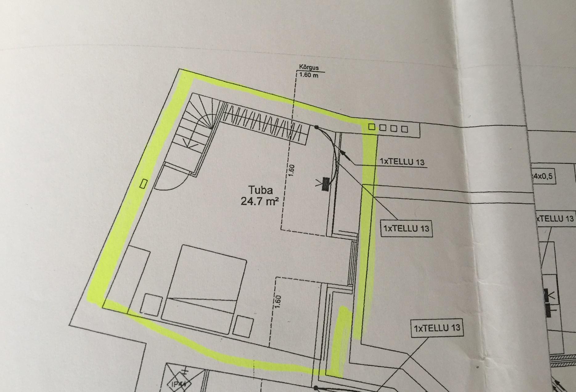 plaan 3 korrus
